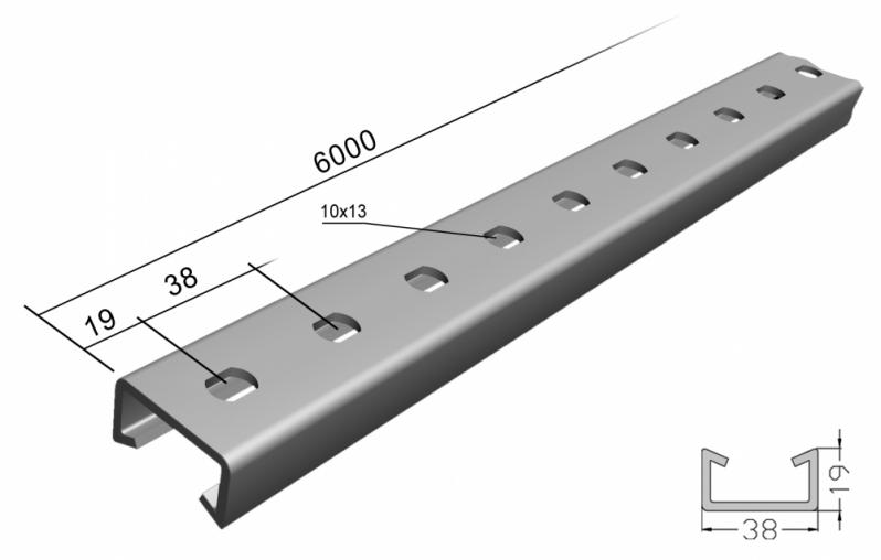 Comprar Perfilado Perfurado Galvanizado Eletrolítico Salvador - Perfilado Perfurado Galvanizado Eletrolítico