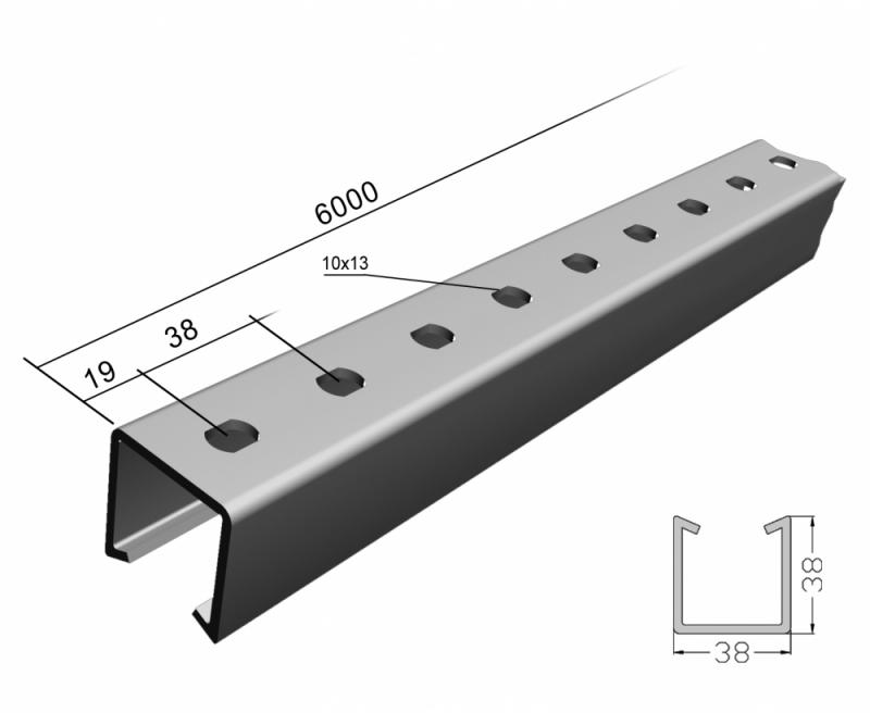 Venda de Perfilado Metálico Perfurado Natal - Perfilado Perfurado Galvanizado Eletrolítico